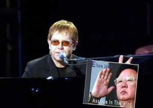 Elton John releases Asshole in the Wind dedicated to Kim Jong Il